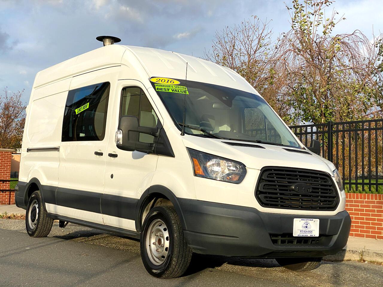 "Ford Transit Cargo Van T-250 148"" Hi Rf 9000 GVWR Sliding RH Dr 2016"
