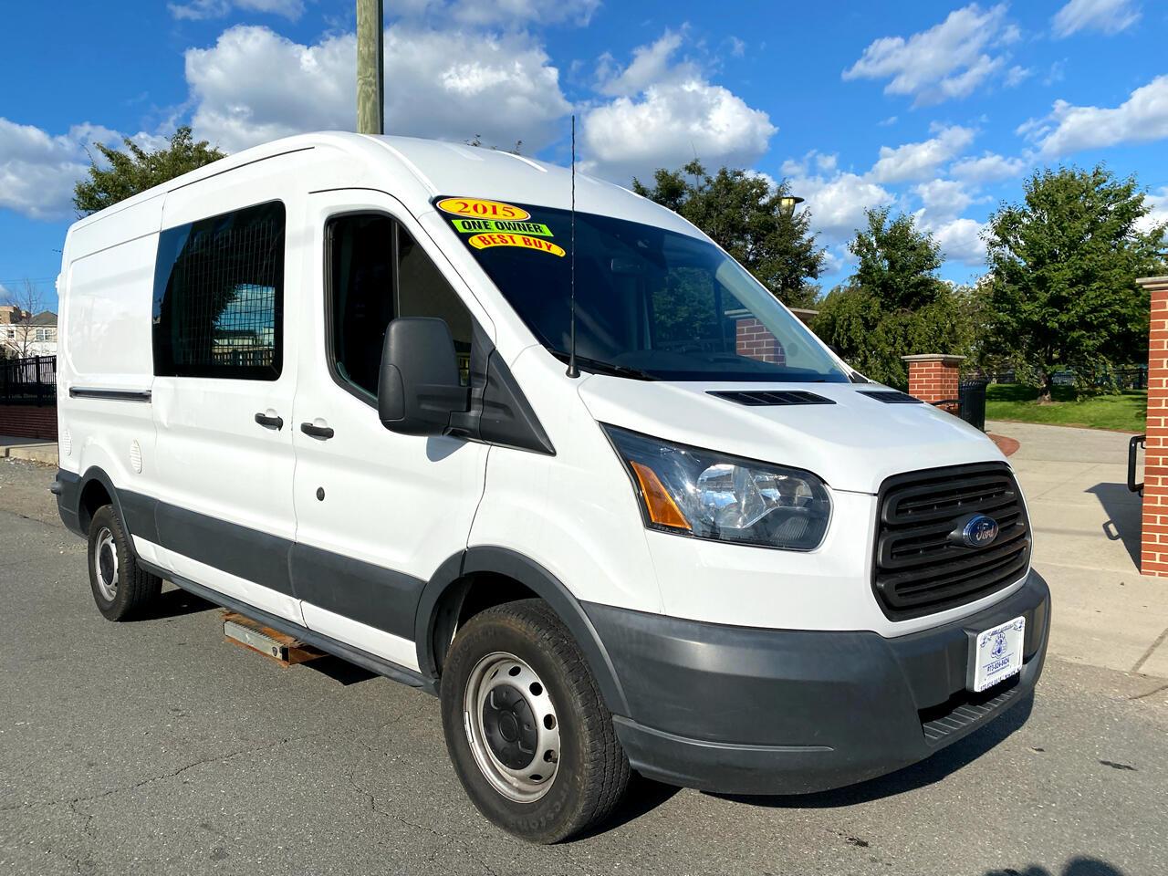 "Ford Transit Cargo Van T-350 148"" Med Rf 9500 GVWR Sliding RH Dr 2015"