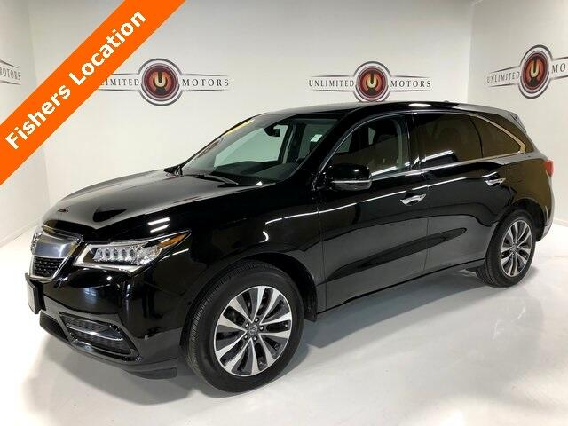 2016 Acura MDX 9-Spd AT SH-AWD w/Tech & AcuraWatch Plus