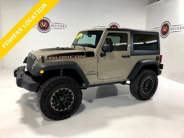 2017 Jeep Wrangler Rubicon 4WD