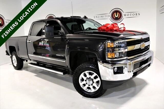"Chevrolet Silverado 3500HD Built After Aug 14 4WD Crew Cab 167.7"" LTZ 2015"