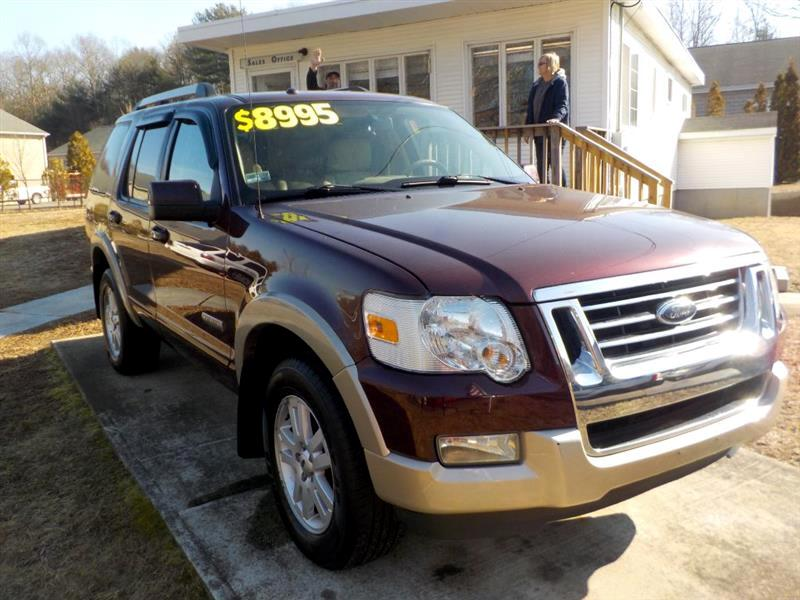 Buy Here Pay Here 2007 Ford Explorer For Sale In Ashaway Ri 02804