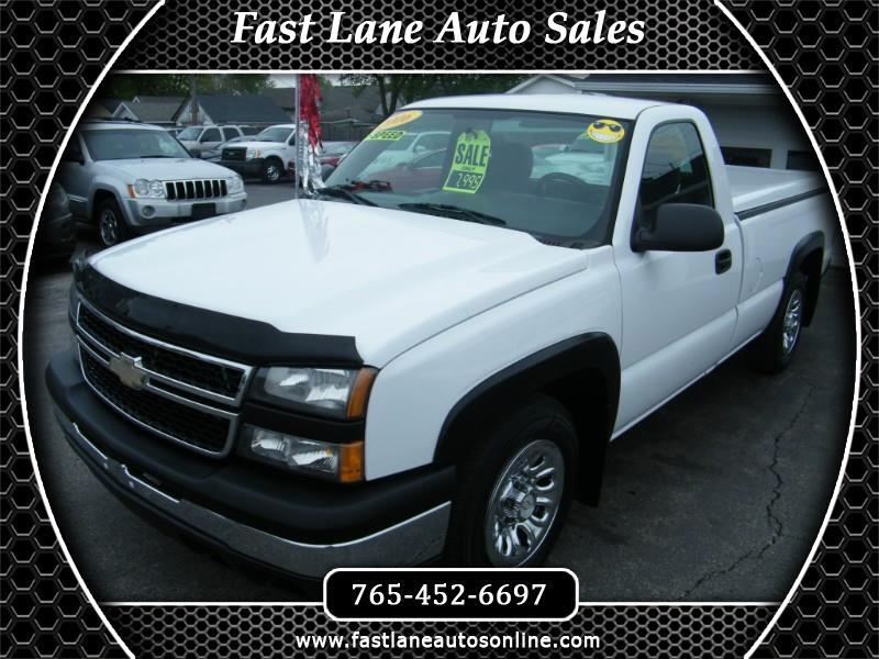 Chevrolet Silverado 1500 Work Truck Long Bed 2WD 2006