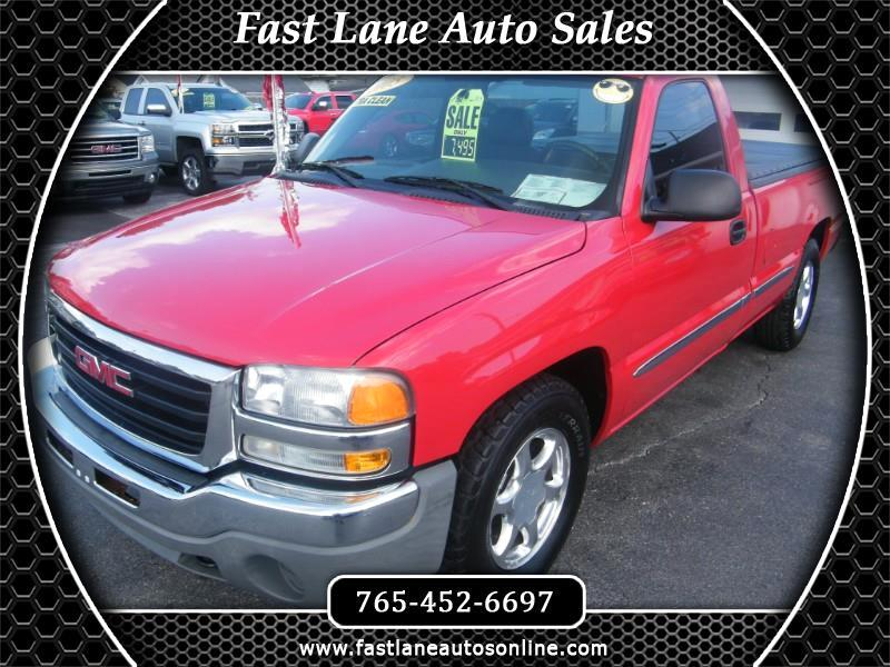 GMC Sierra 1500 SLE Long Bed 2WD 2005