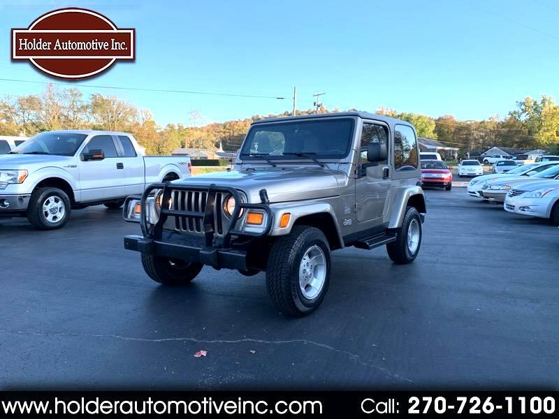 Jeep Wrangler Sahara 2003