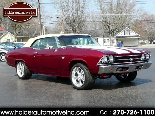 Used 1969 Chevrolet Chevelle Ss 454 For Sale In Russellville Ky