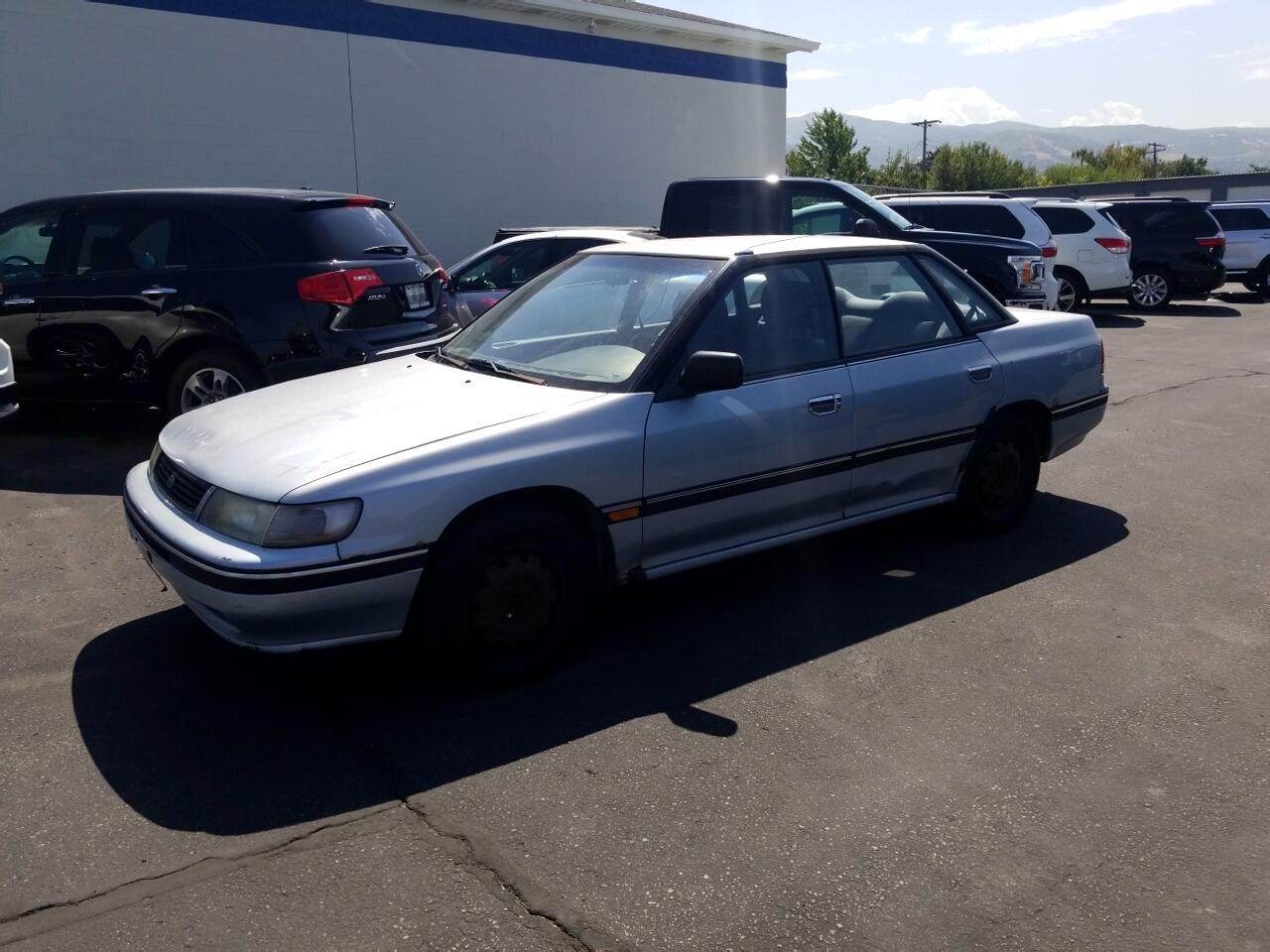 1994 Subaru Legacy Sedan 4dr Sedan 5-Spd AWD L w/HW Equipment Pkg
