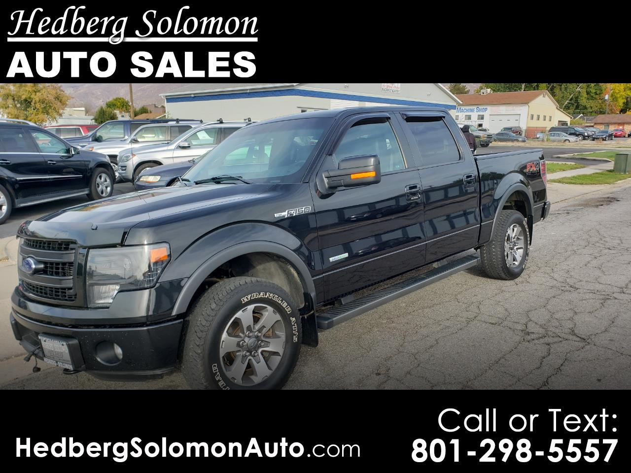"2014 Ford F-150 4WD SuperCrew 145"" FX4"