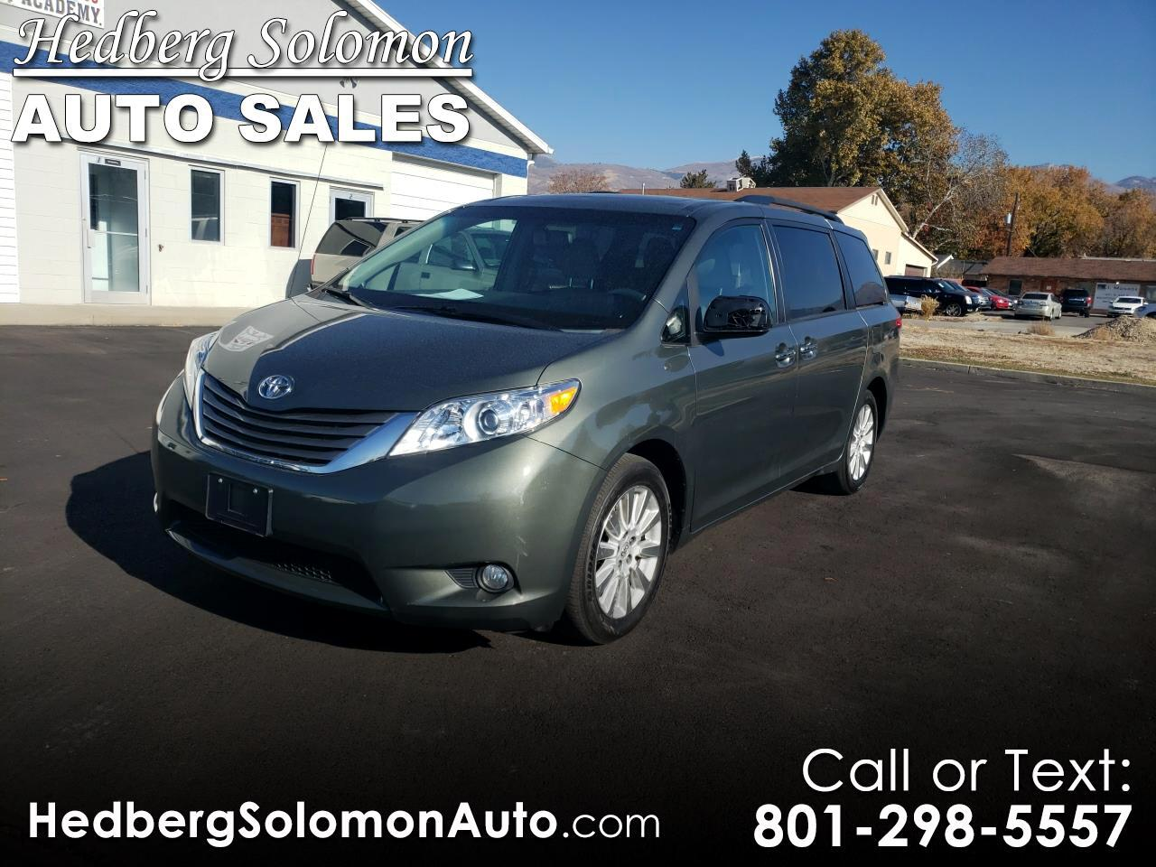 2013 Toyota Sienna 5dr 7-Pass Van XLE Ltd AWD (Natl)
