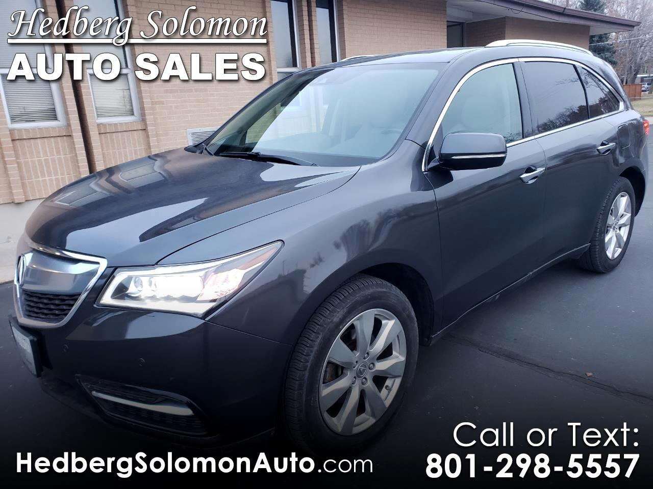 2016 Acura MDX 6-Spd AT w/Advance Package