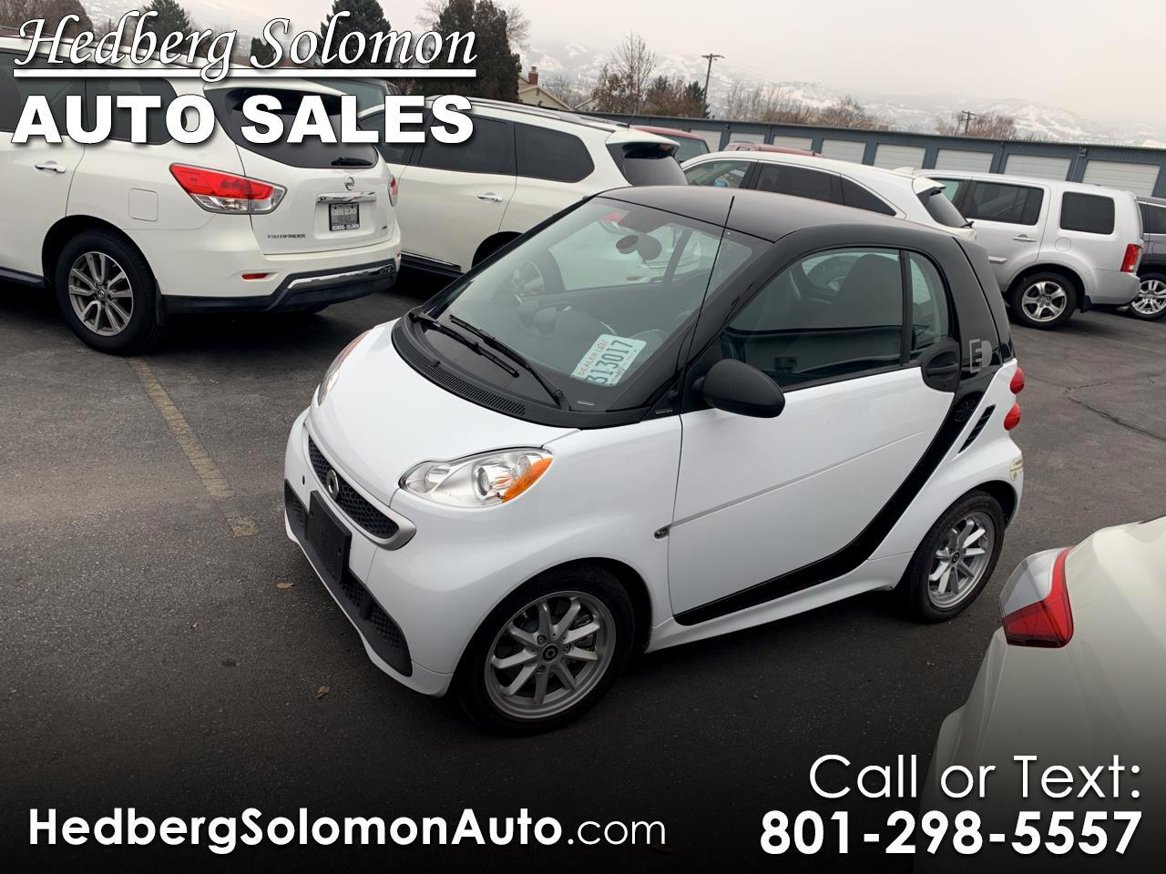 2015 smart fortwo electric drive 2dr Cpe Passion
