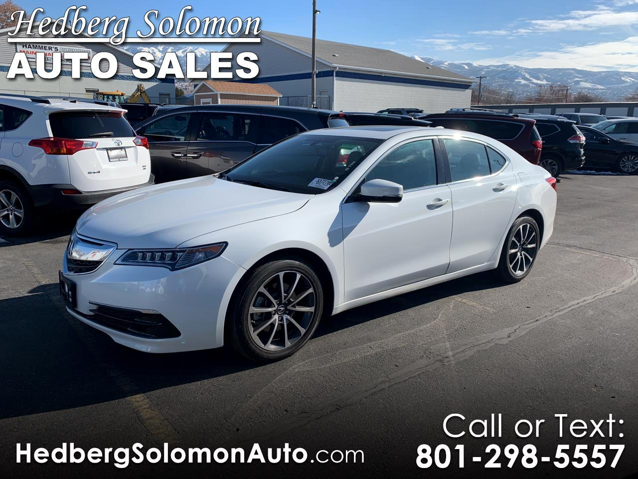2016 Acura TLX FWD w/Technology Pkg