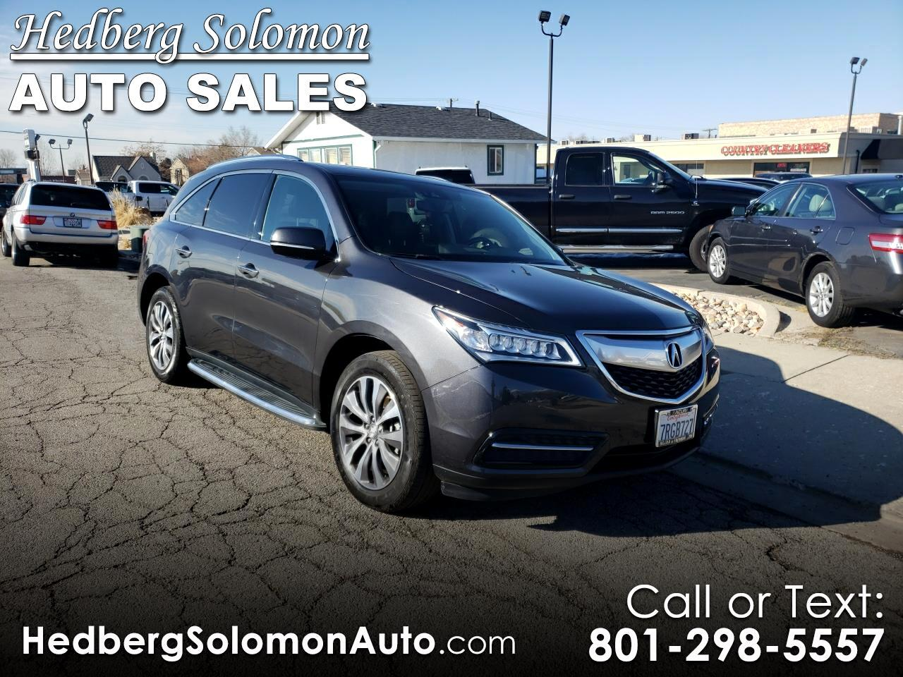 2016 Acura MDX SH-AWD 6-Spd AT w/Tech Package
