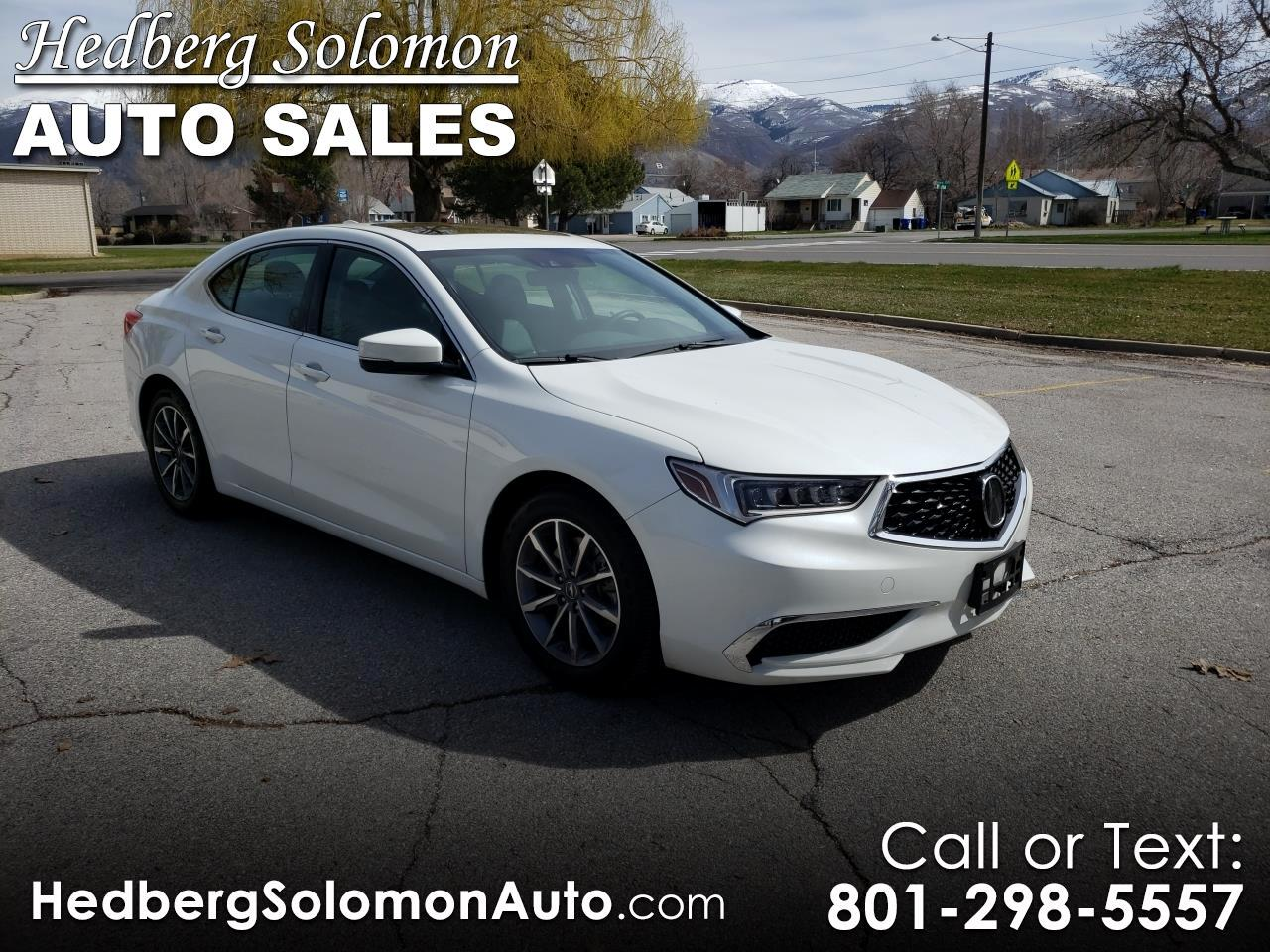 2018 Acura TLX 2.4L FWD w/Technology Pkg