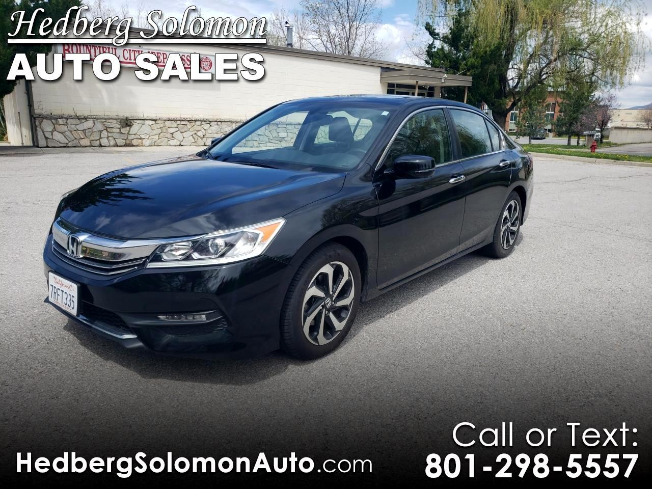 2016 Honda Accord Sedan EX-L CVT