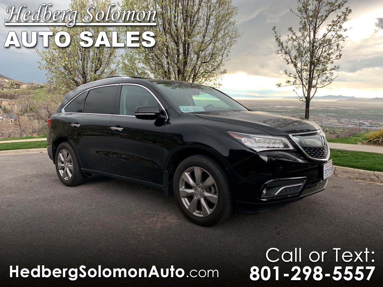 2016 Acura MDX SH-AWD 4dr w/Advance