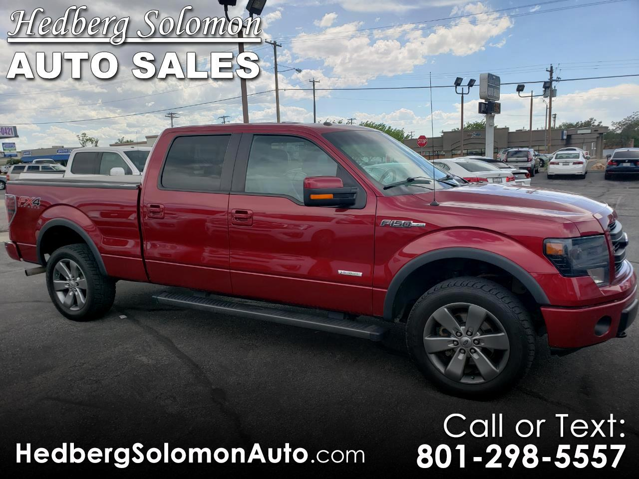 """2014 Ford F-150 4WD SuperCrew 157"""" FX4"""