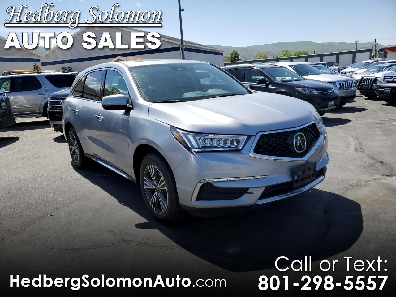 2017 Acura MDX 9-Spd AT w/ AcuraWatch Plus