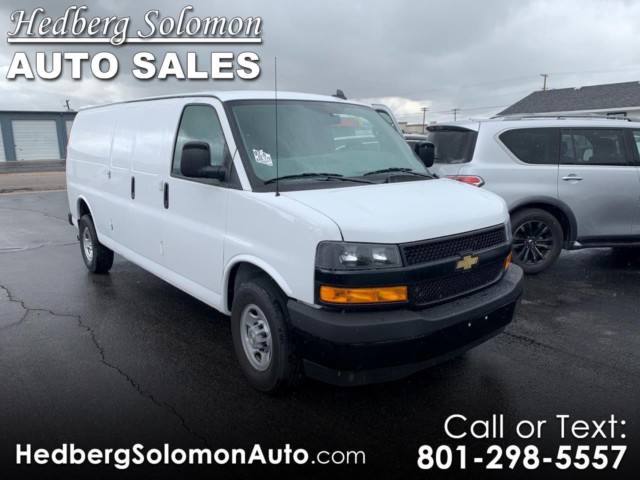 """2019 Chevrolet Express Cargo Van RWD 2500 155"""""""
