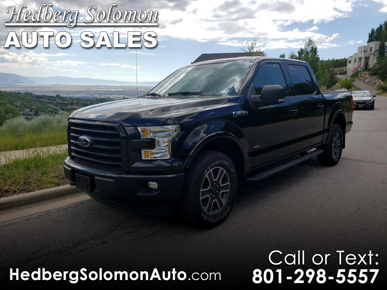 2017 Ford F-150 4WD SuperCrew 157