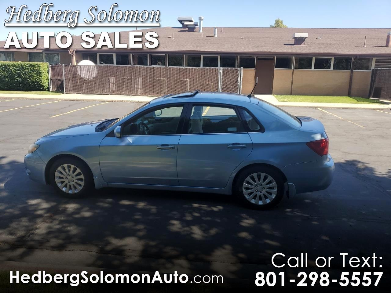 2011 Subaru Impreza Sedan 4dr Man 2.5i Premium w/Pwr Moonroof Value Pkg