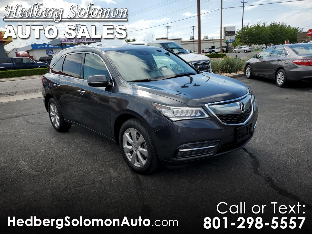 2016 Acura MDX Advance Pkg