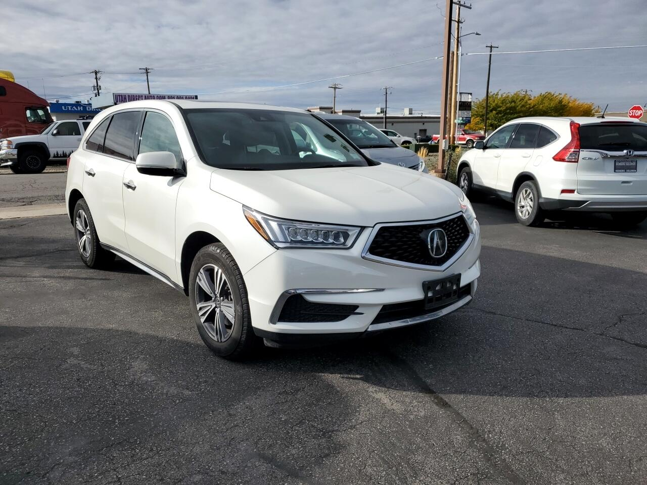 Acura MDX 9-Spd AT w/ AcuraWatch Plus 2017