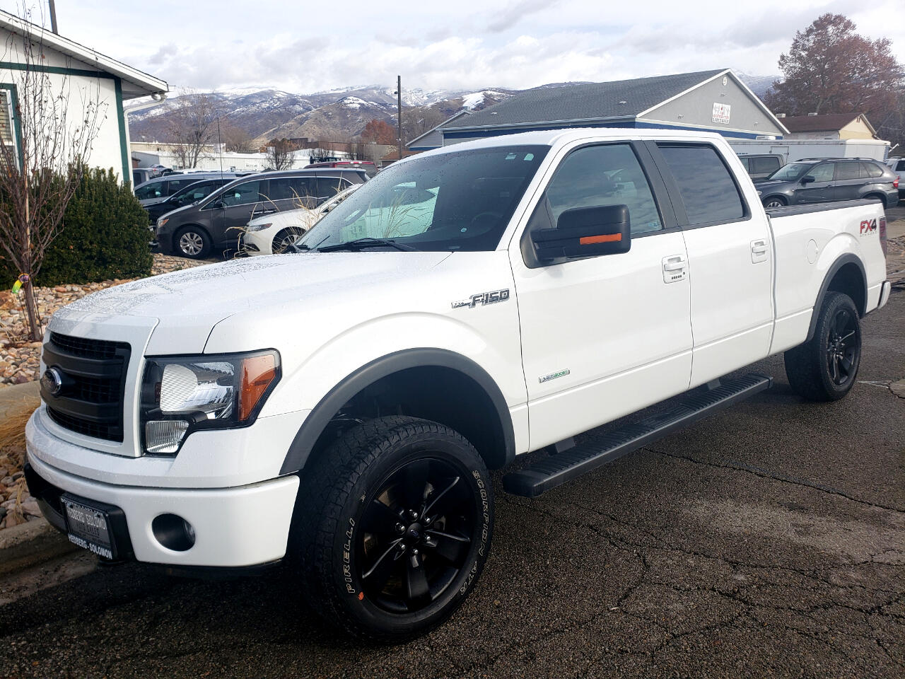 """Ford F-150 4WD SuperCrew 157"""" FX4 2014"""