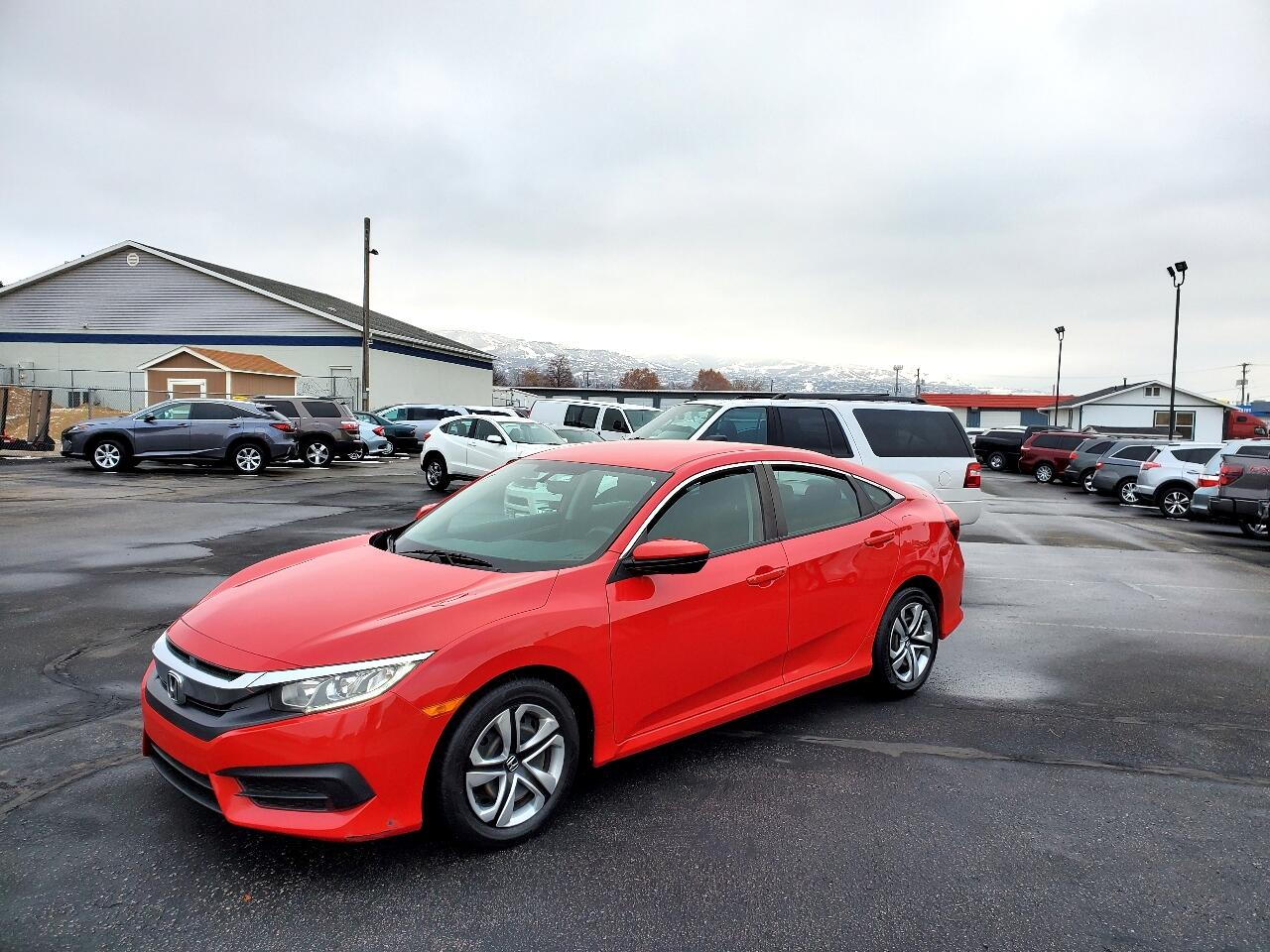 Honda Civic Sedan 4dr CVT LX 2016