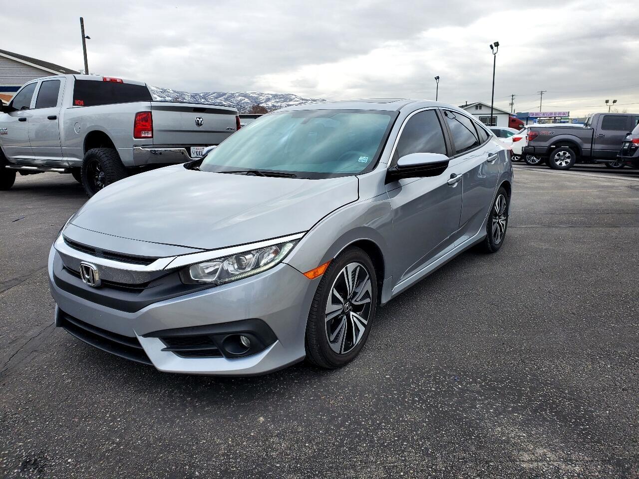 Honda Civic Sedan 4dr CVT EX-T 2016