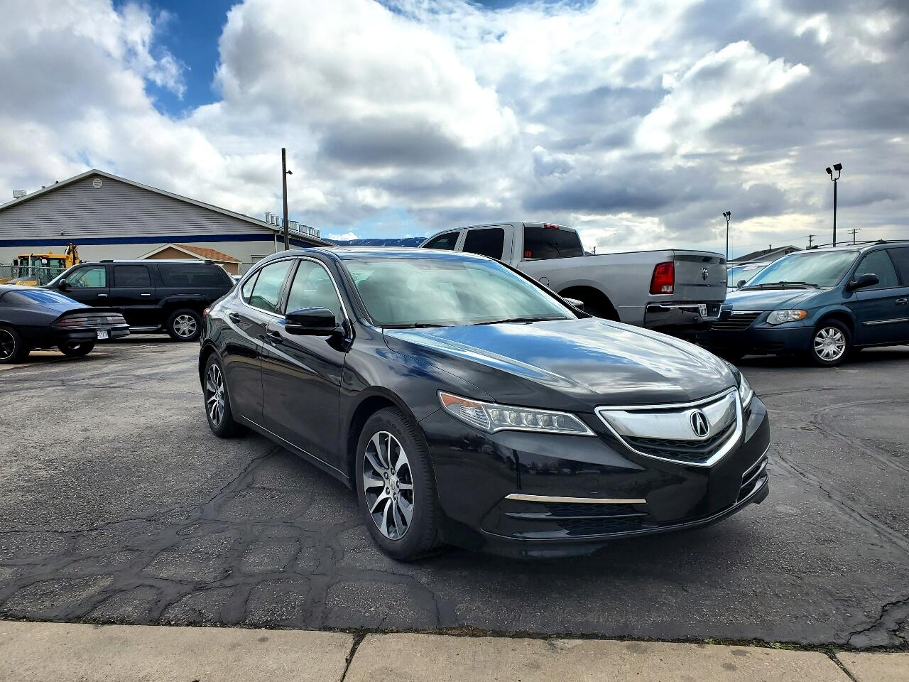 Acura TLX FWD w/Technology Pkg 2017
