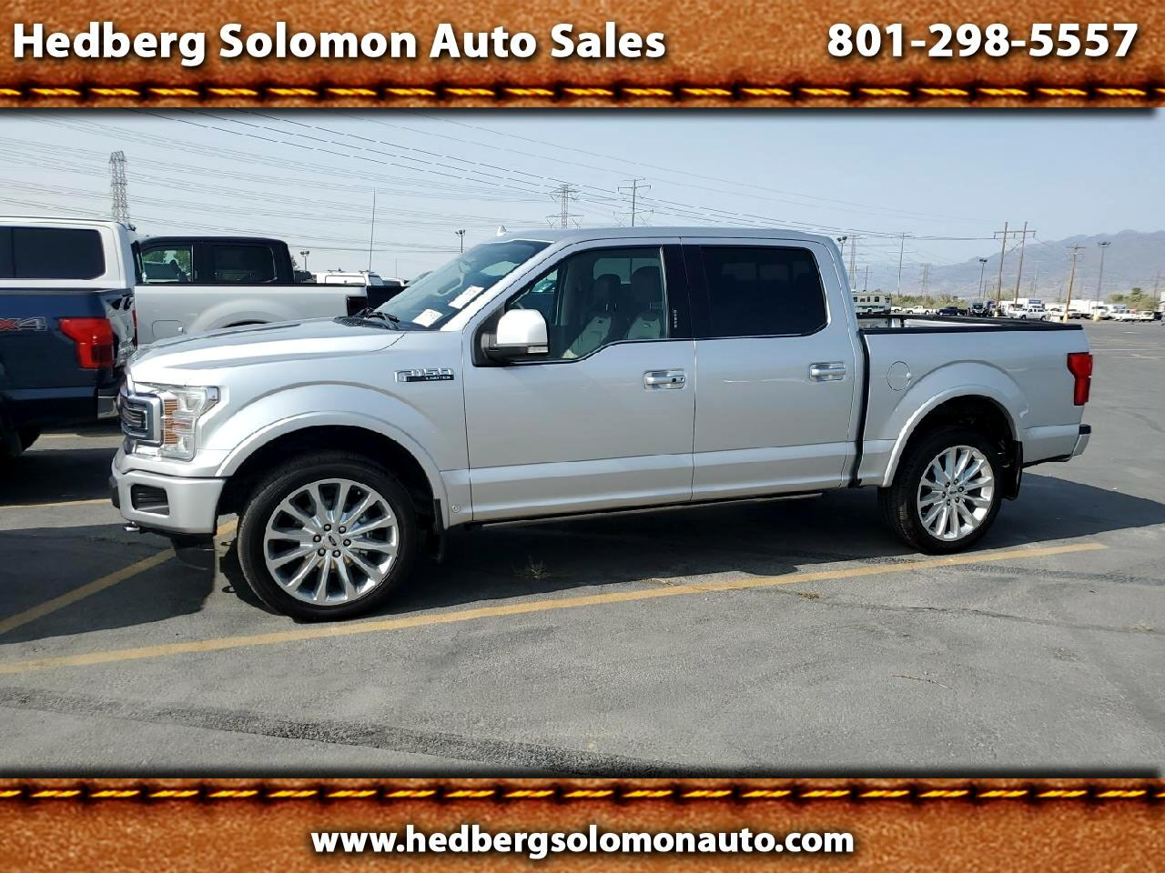 Ford F-150 Limited 4WD SuperCrew 5.5' Box 2019