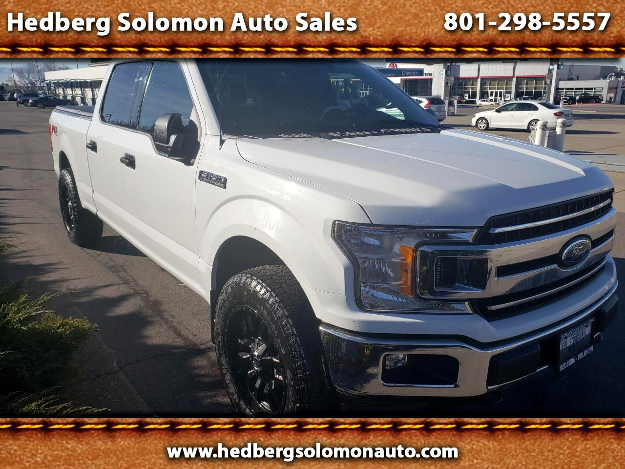 "Ford F-150 4WD SuperCrew 157"" FX4 2018"