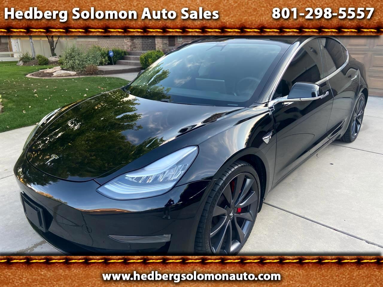 Tesla Model 3 Performance 4D Sedan AWD 2020