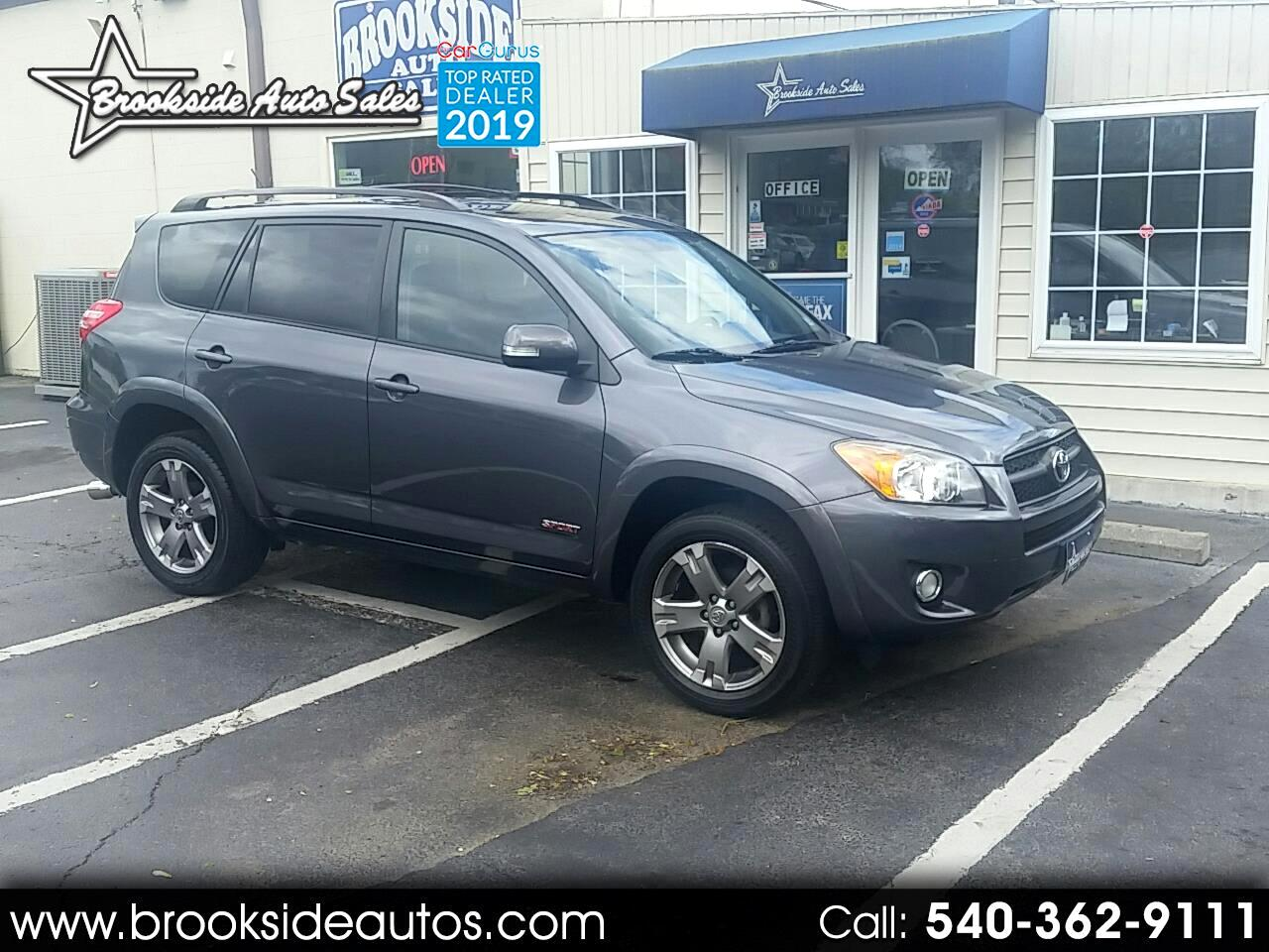 2010 Toyota RAV4 FWD 4dr 4-cyl 4-Spd AT Sport (Natl)