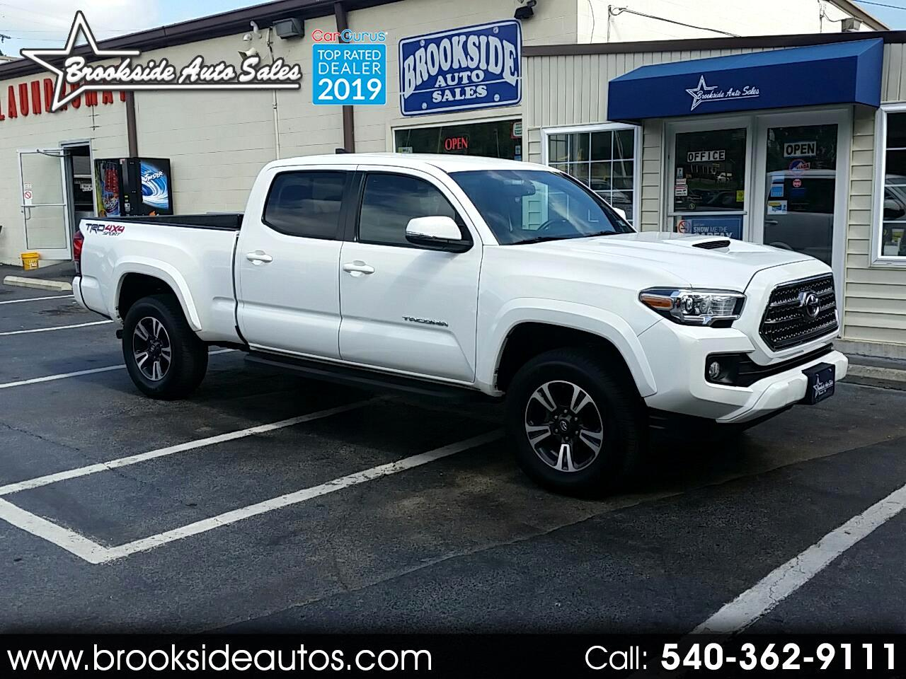 2016 Toyota Tacoma 4WD Double Cab LB V6 AT TRD Sport (Natl)