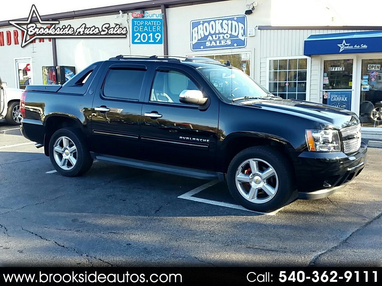 2013 Chevrolet Avalanche 4WD Crew Cab LT