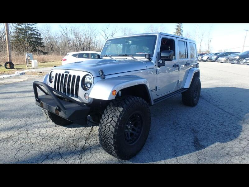 2015 Jeep Wrangler Unlimited 4WD Sahara