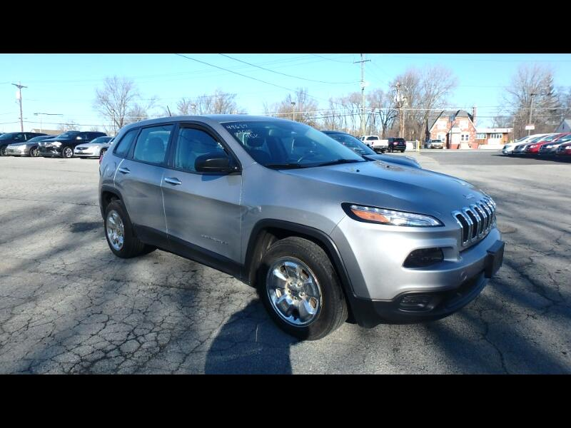 2015 Jeep Cherokee FWD 4dr Sport
