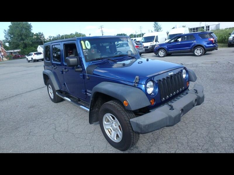 Jeep Wrangler Unlimited 4WD 4dr Sport 2010