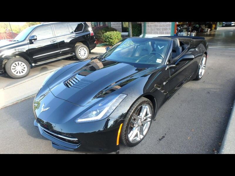 2015 Chevrolet Corvette 2dr Stingray Z51 Conv w/3LT