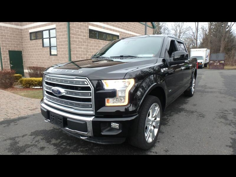 "Ford F-150 4WD SuperCrew 145"" Limited *Late Avail* 2016"