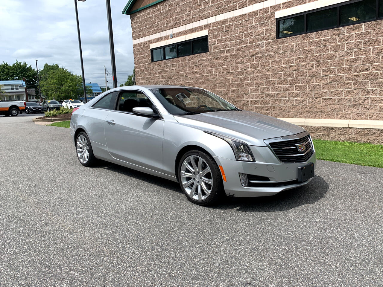 Cadillac ATS Coupe 2dr Cpe 2.0L Luxury AWD 2015
