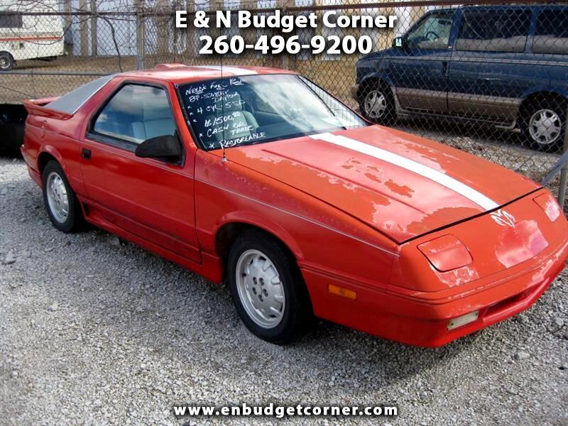 1989 Dodge Daytona  for sale VIN: 1B3XG44K9KG171919