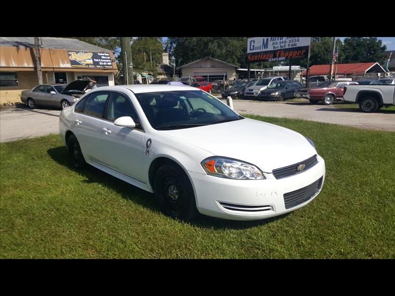 2010 Chevrolet Impala Police Cruiser
