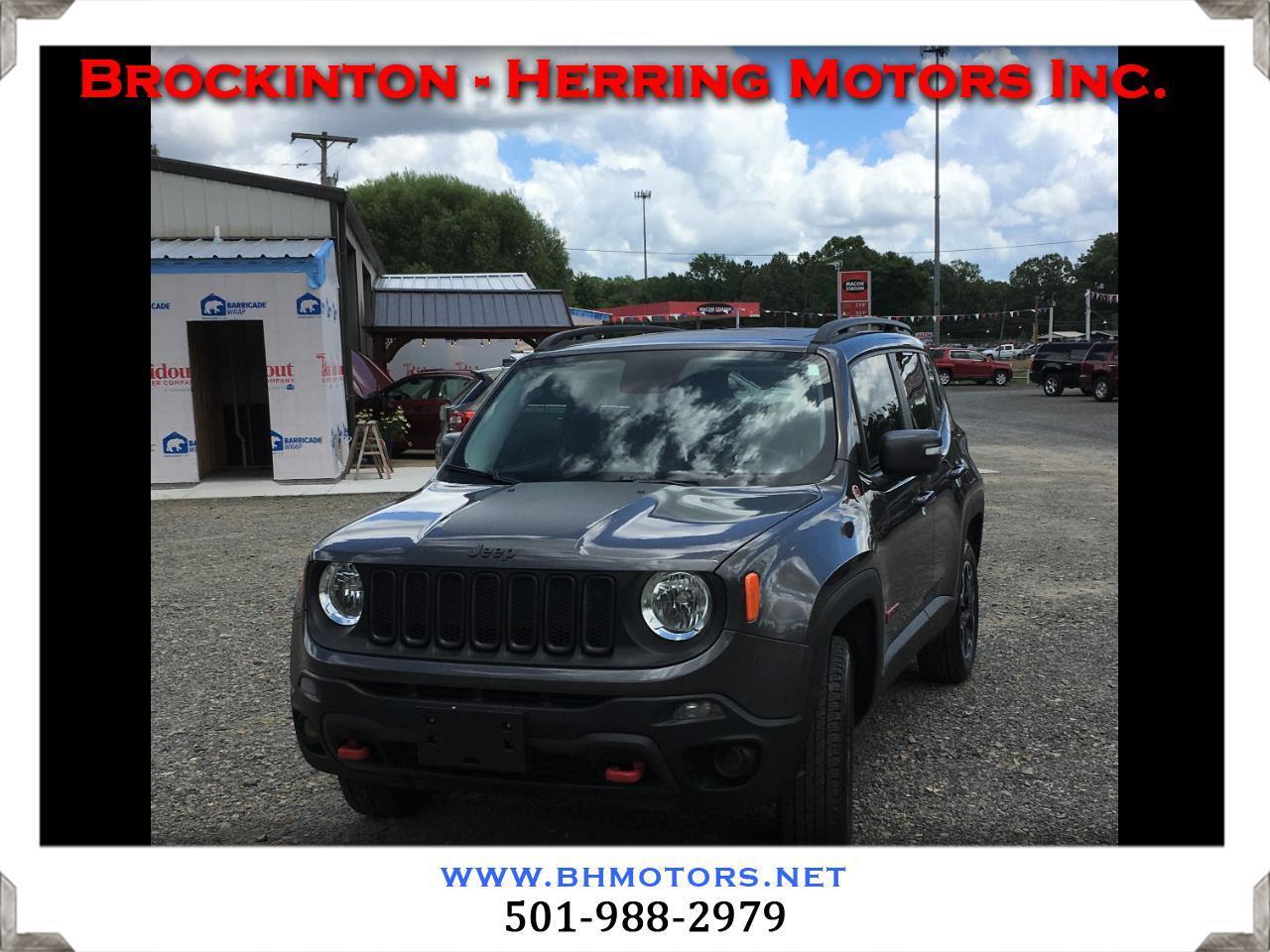 Jeep Renegade 4WD 4dr Trailhawk 2016