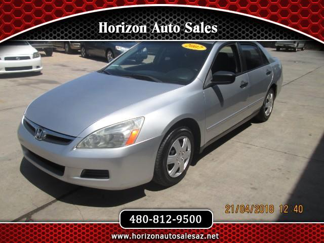 2007 Honda Accord VP Sedan AT