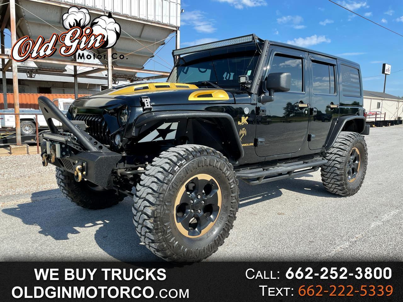 2014 Jeep Wrangler Sahara Unlimited 4x4