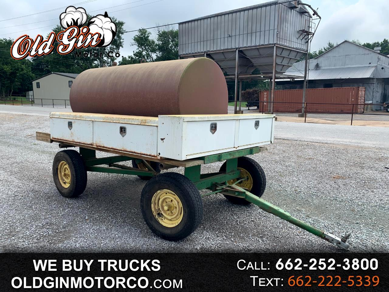 1999 Homemade Trailer FUEL TANK WITH TOOL BOXES