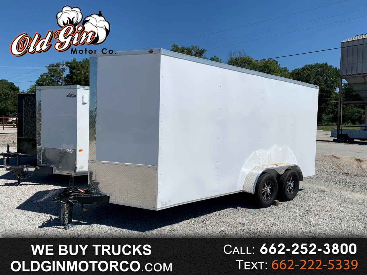 2021 US Cargo 16 FT. Enclosed 7 x 16 Power Line Insulated Food Trailer